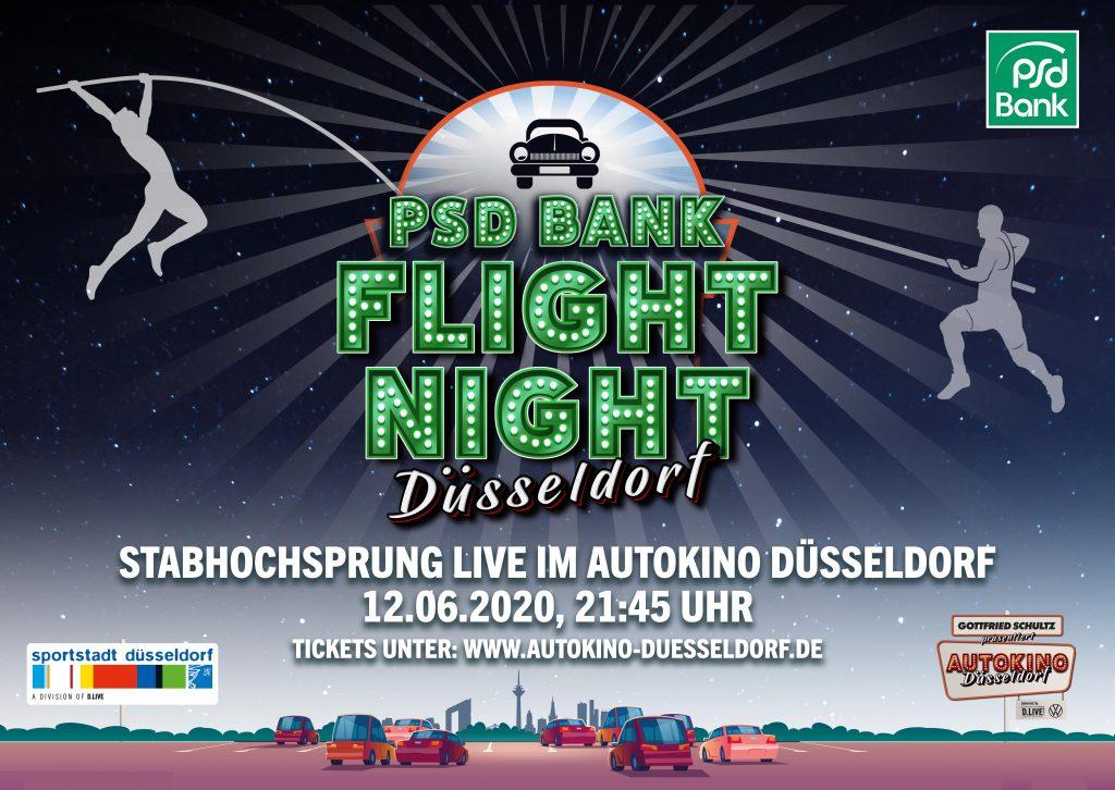 12.06.2020, 21:45 Uhr PSD Bank Flight Night Düsseldorf