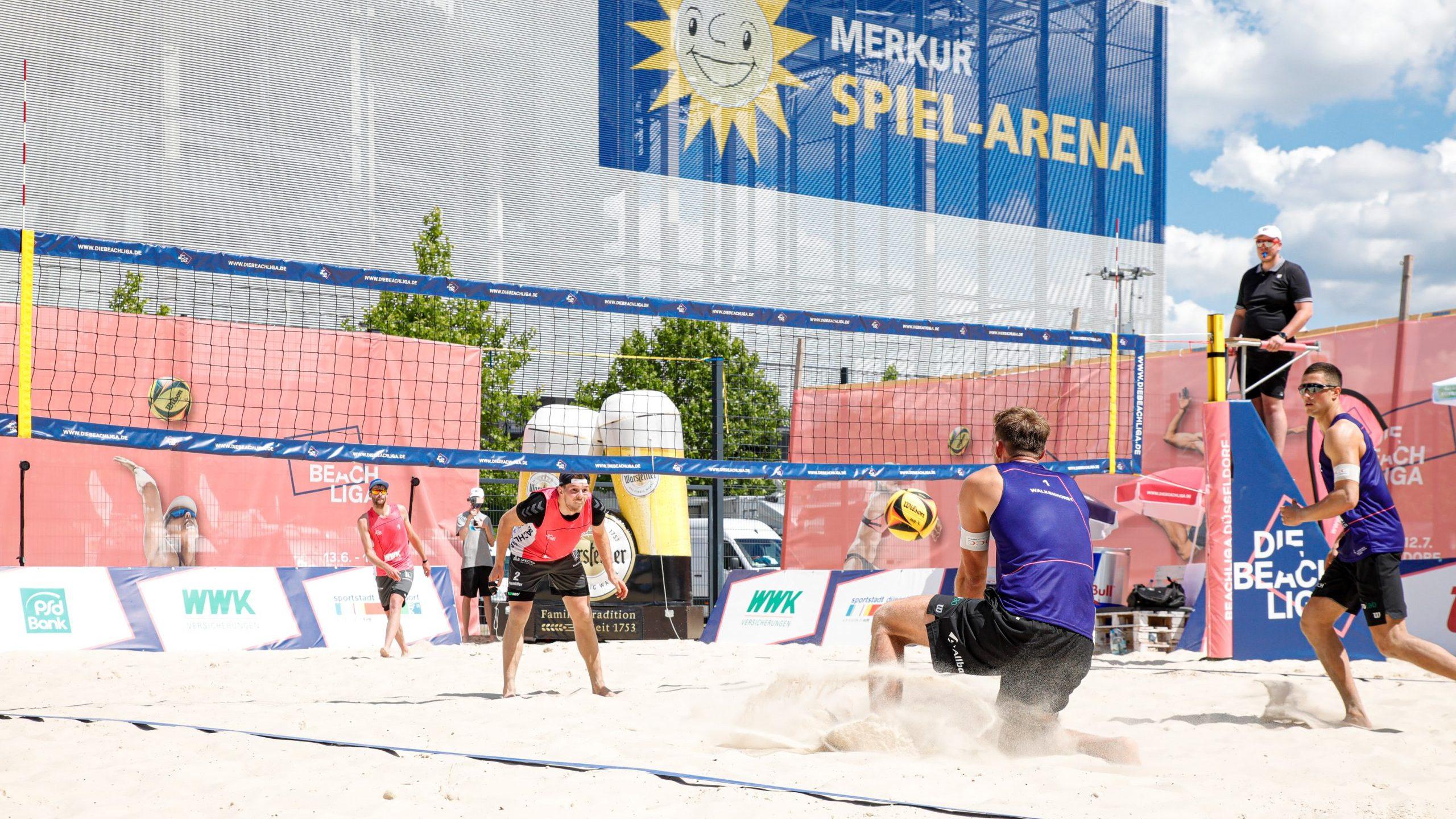 Die Beach Liga ab sofort auch mit Zuschauern