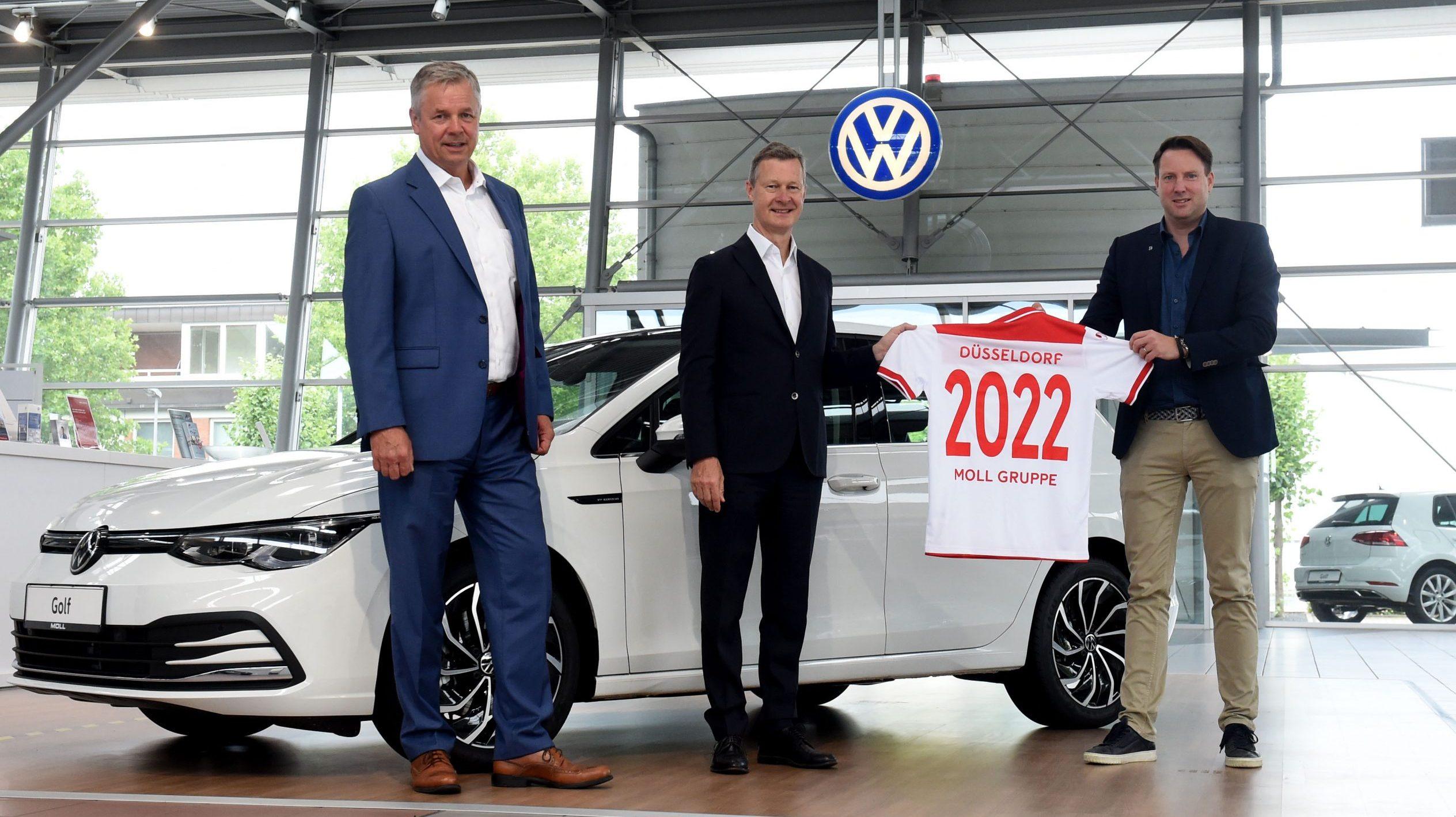 Moll Gruppe und VW werden neuer Automobilpartner