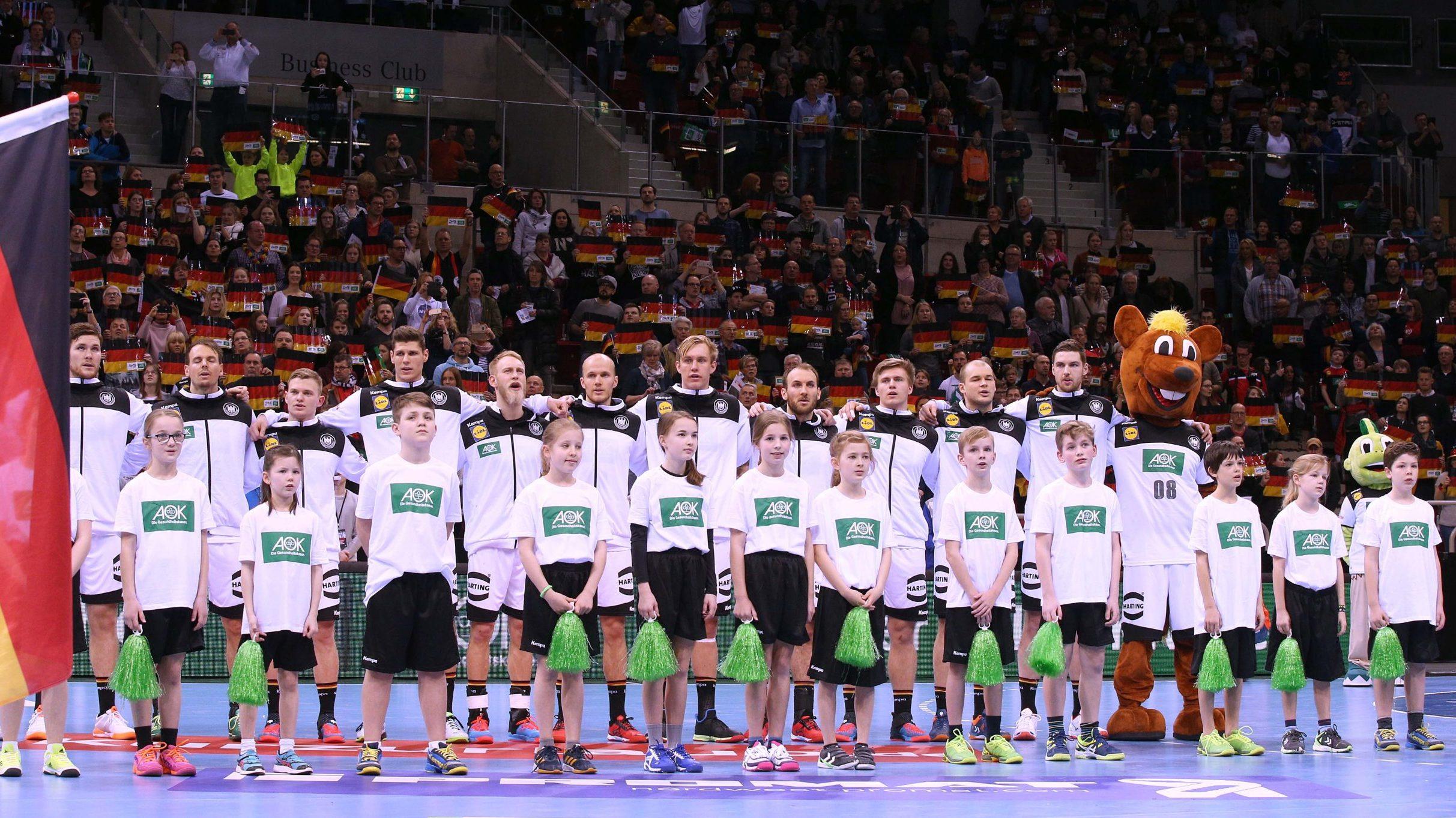 Auftakt der Qualifikation für die EHF EURO 2022 gegen Bosnien-Herzegowina am 5. November