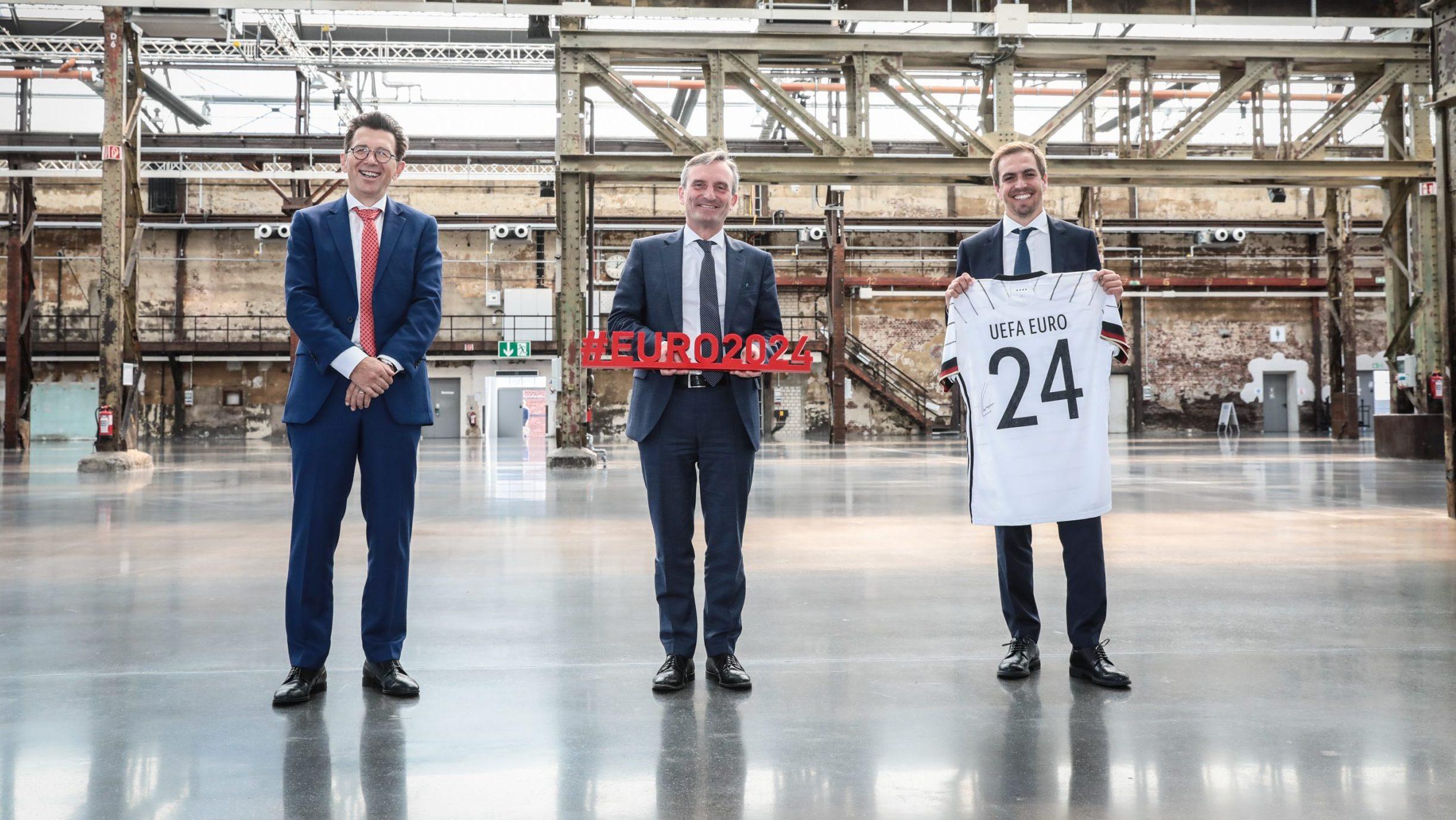 """Euro 2024: OB Geisel wirbt für Düsseldorf als Standort des """"International Broadcasting Centre"""""""