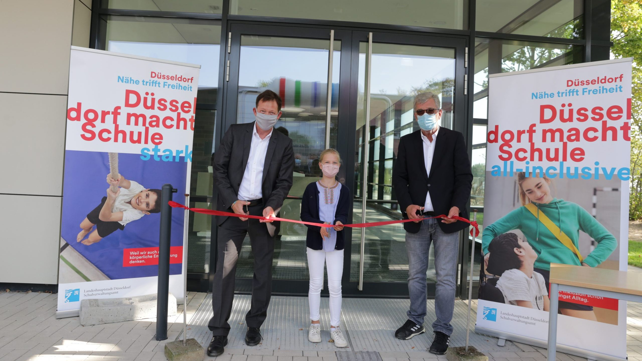 Neue Halle für den Schul- und Vereinssport offiziell eröffnet