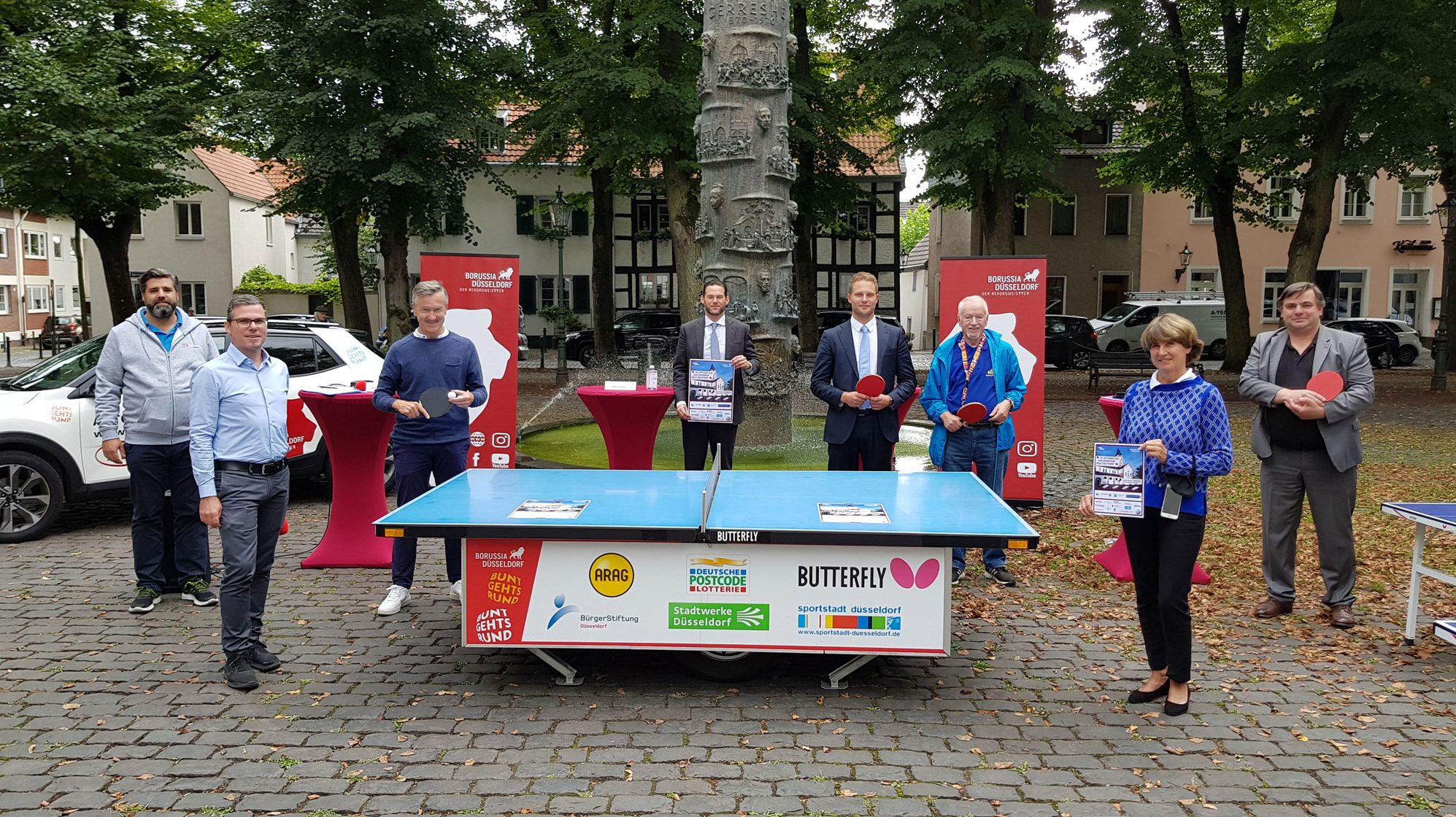 """""""Ganz Gerresheim spielt Tischtennis"""""""