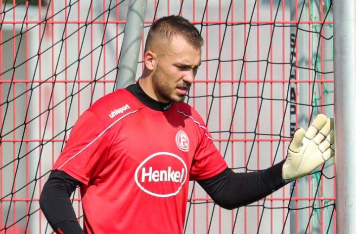 Florian Kastenmeier rettet seinem Team die drei Punkte. Foto: Beele