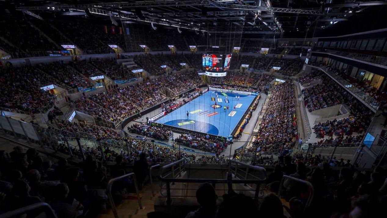 EHF EURO-Qualifikationsauftakt mit Zuschauern