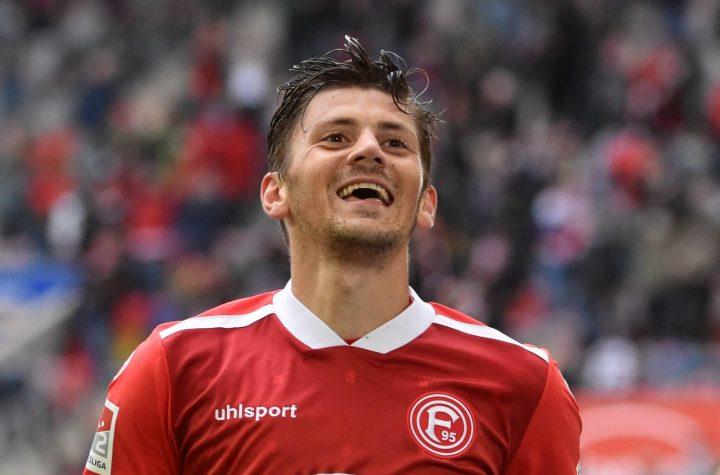 Dawid Kownacki hat Fortuna erneut zum Sieg geschossen. Foto: Wolff