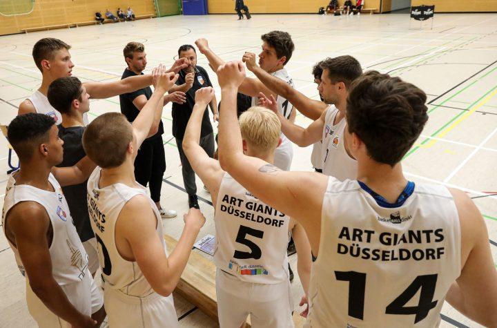 Testspiel der ART Giants Düsseldorf gegen Deutzer TV, 09.09.2020