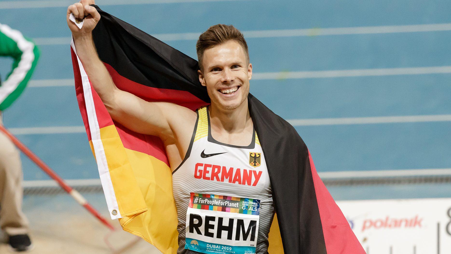 Rehm ist Parasportler des Jahrzehnts