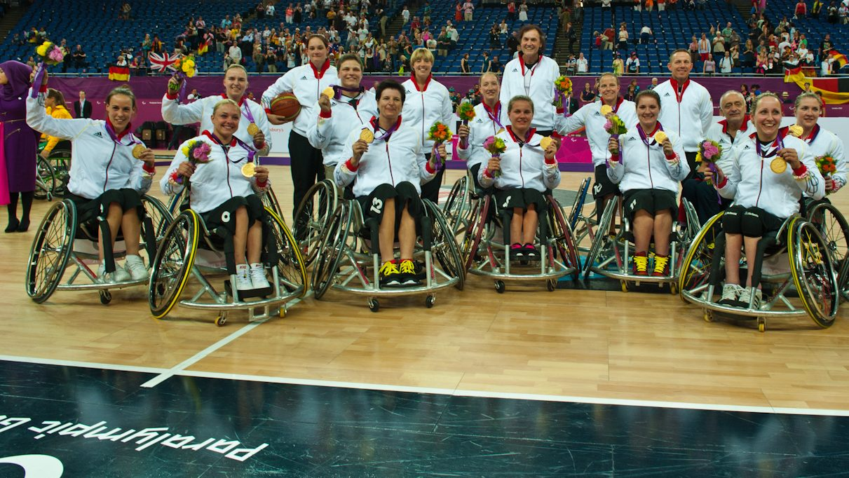 Große Ehre für Deutsche Rollstuhl-Basketballerinnen