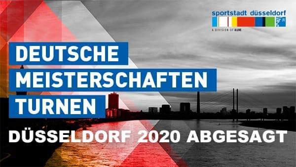 Deutsche Meisterschaften 2020 abgesagt