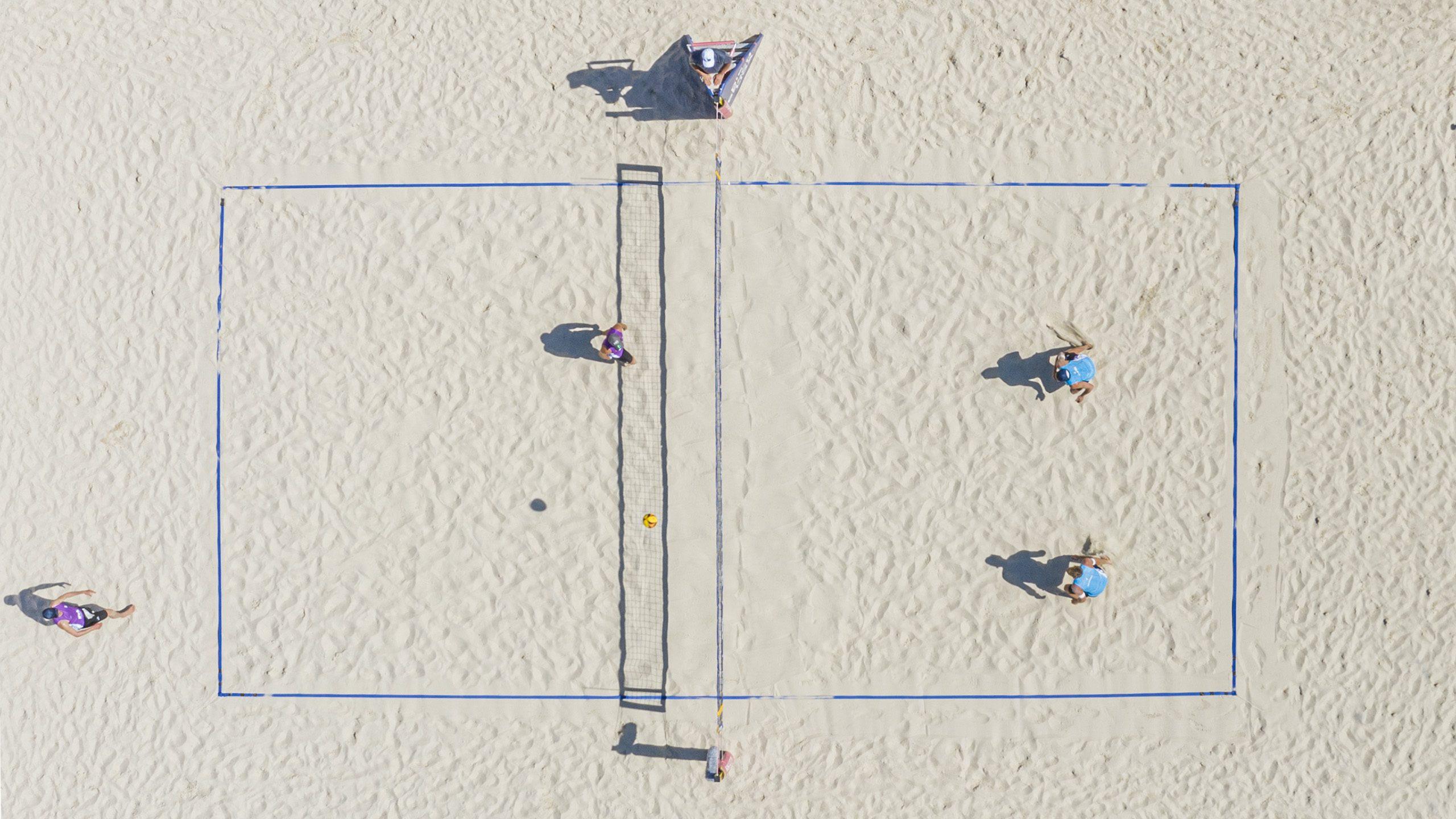 Beachvolleyball-Elite kämpft um German Beach Trophy