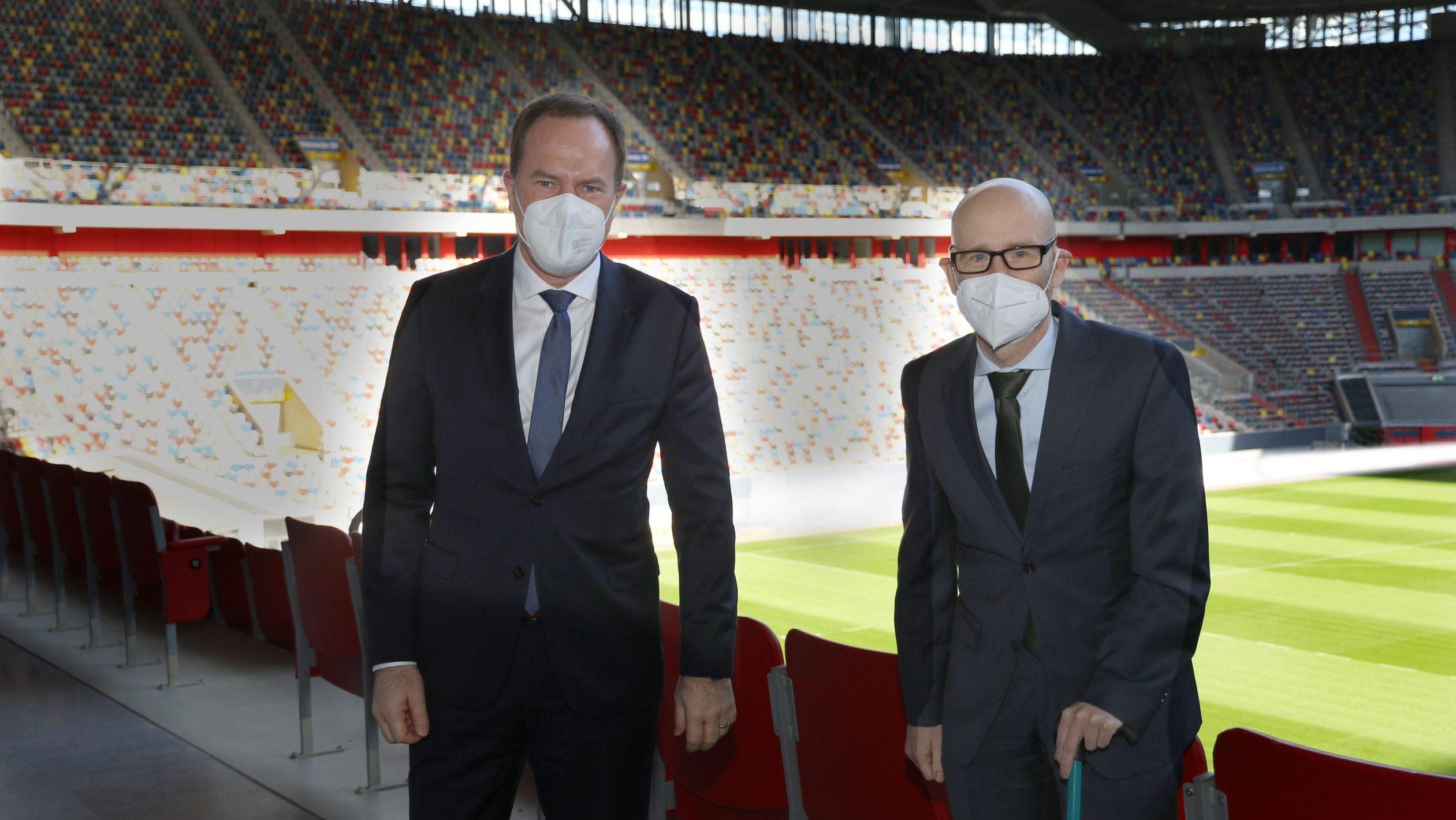 Staatssekretär Tauber und OB Keller festigen Zusammenarbeit