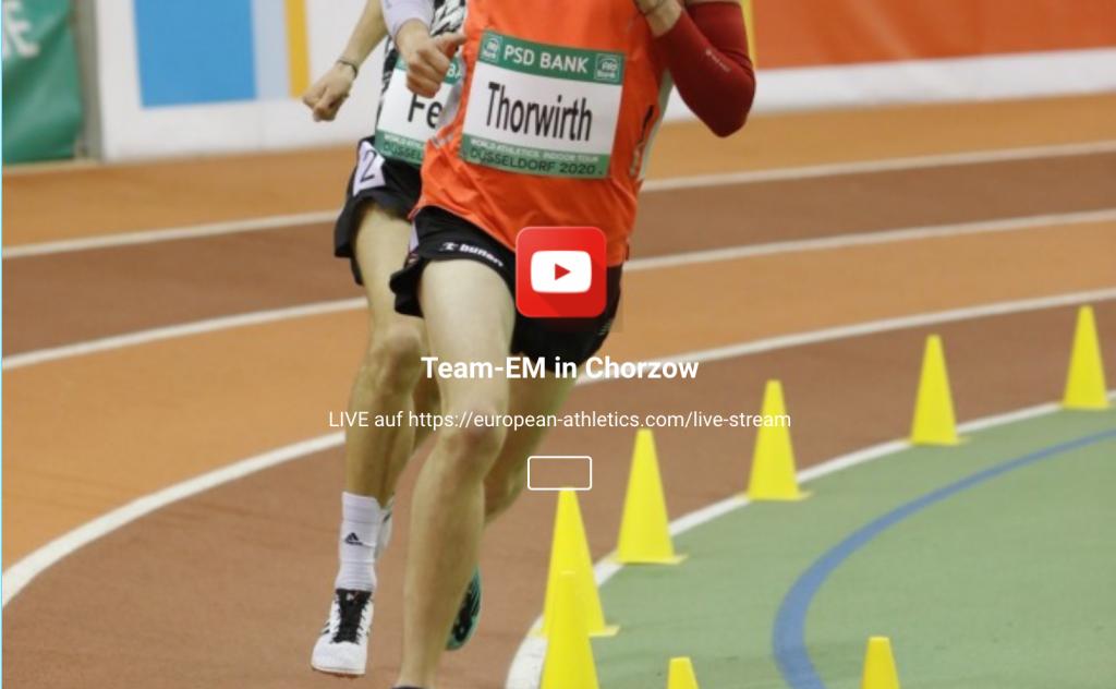 29./30.05.2021, 15:30 Uhr: Team-EM in Chorzow
