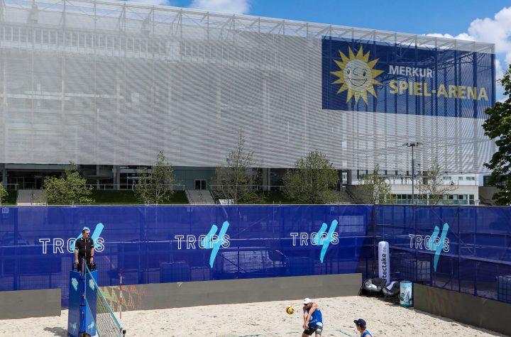 - New Beach Order - SQUAD BATTLE Beachvolleyball 20.05.2021 in Düsseldorf. Foto: Kenny Beele