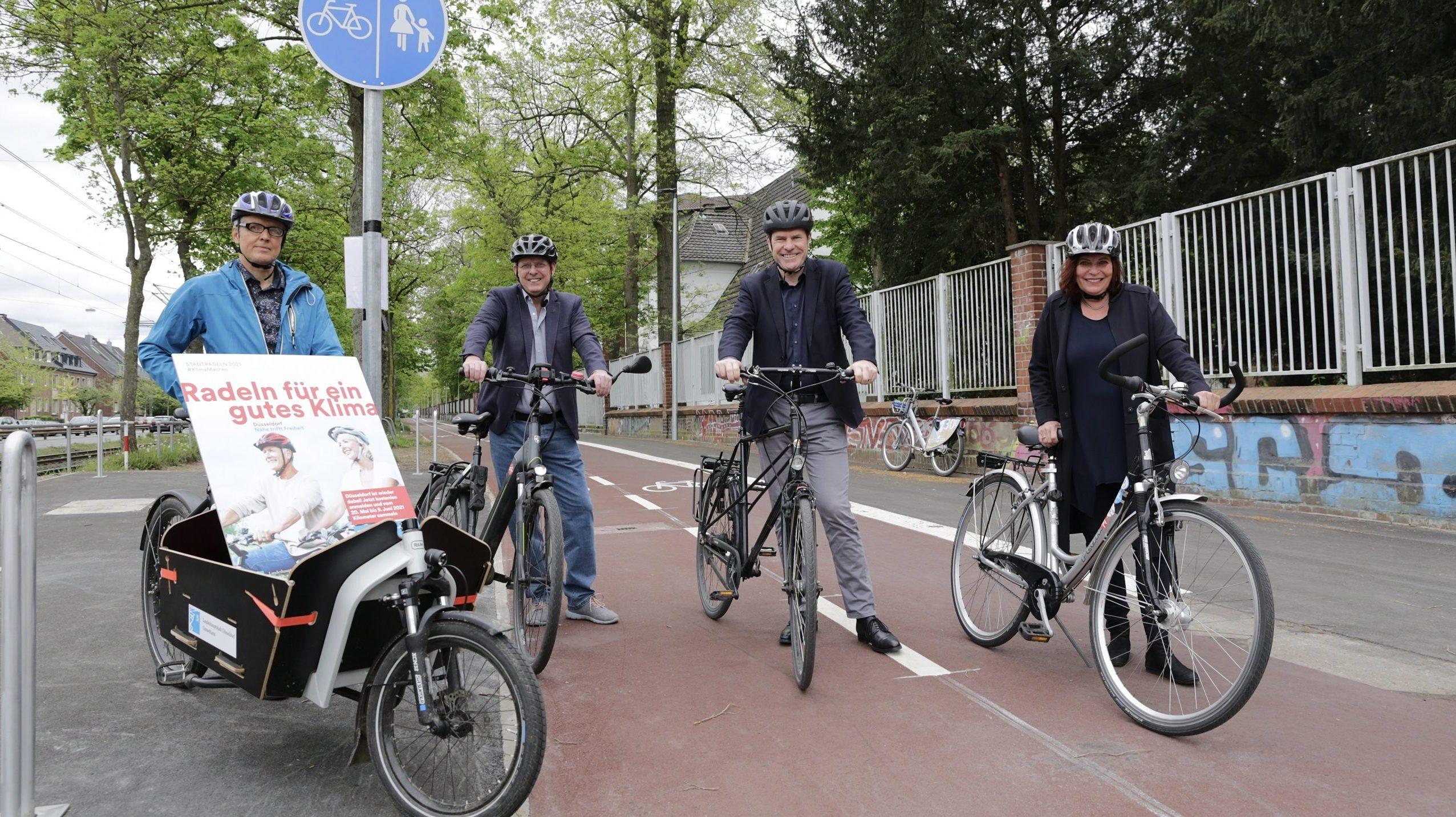 Stadtradeln: Mehr als 1,5 Millionen Radkilometer für Düsseldorf