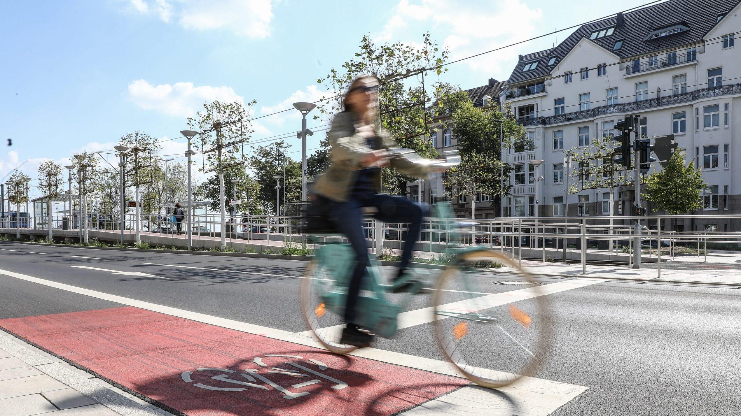 """Die """"Touren D"""": Düsseldorf mit dem Fahrrad entdecken"""