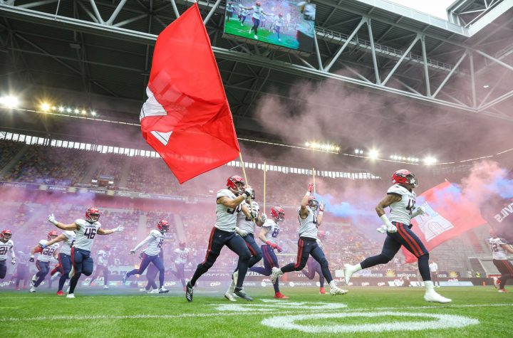 European League of Football Championship Game - Hamburg Sea Devils gegen Frankfurt Galaxy 26.09.2021 in Düsseldorf. Foto: Kenny Beele